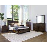 Sartell Platform Solid Wood 6 Piece Bedroom Set by Breakwater Bay