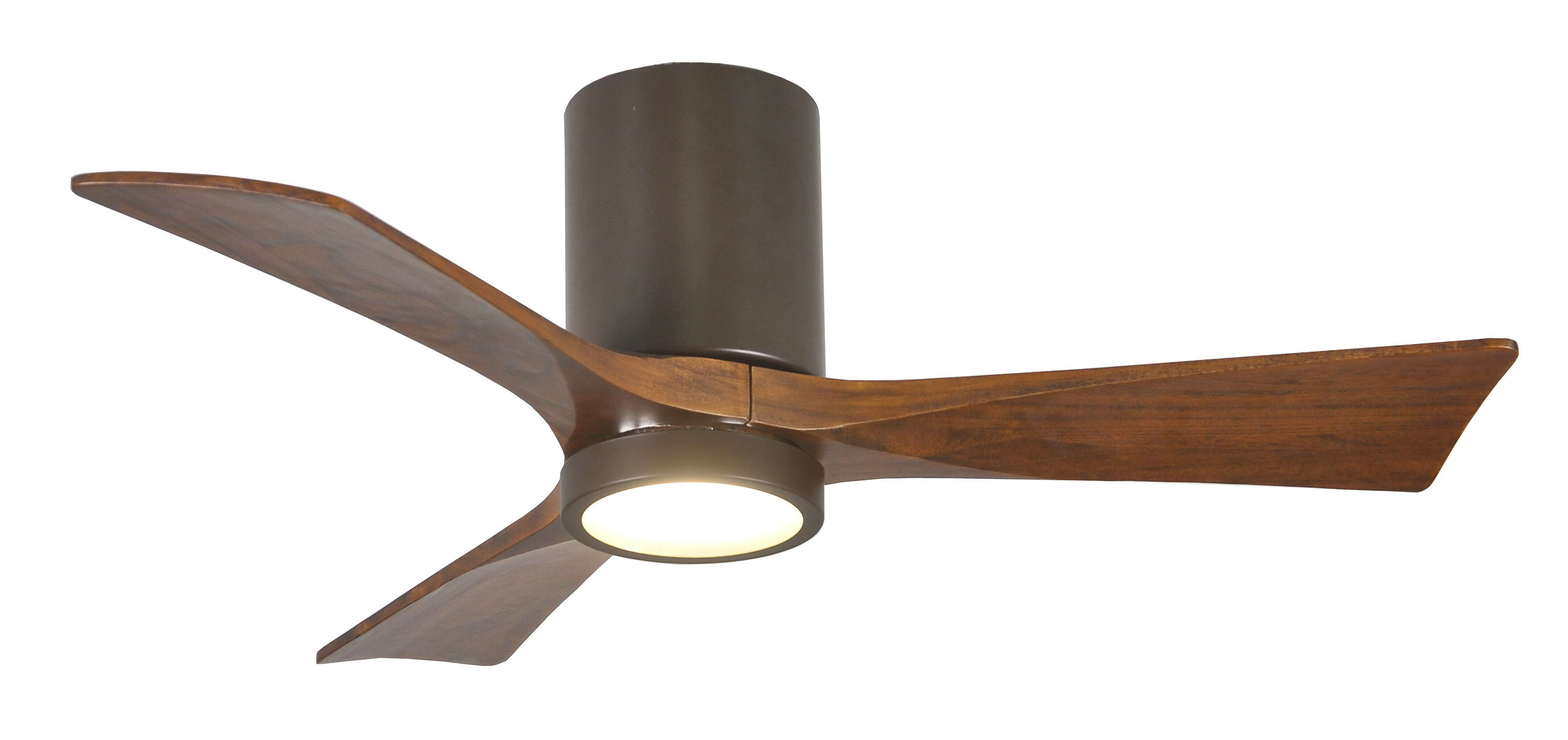 "Wade Logan 42"" Rosalind 3 Blade Hugger Ceiling Fan with Wall"