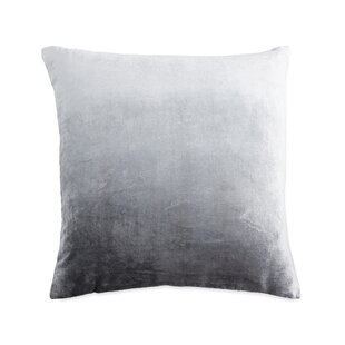New Canaan Iced Ombre Velvet Euro Pillow Sham