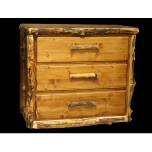 Millwood Pines Amias 3 Drawer Chest