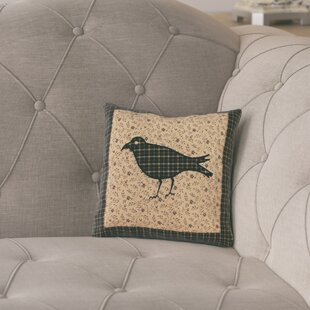 Meacham Crow Cotton Throw Pillow