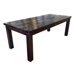 Chic Teak Solid Wood Dining Table