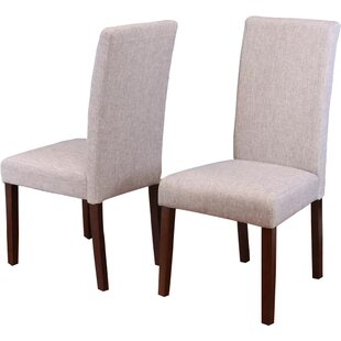 Moseley Upholstered Parsons Chair (Set of 2) Andover Mills