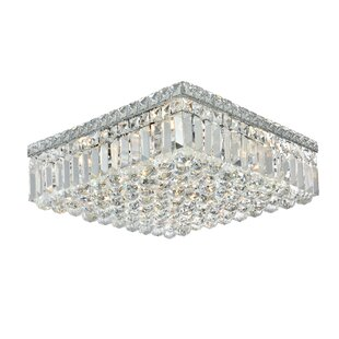 House of Hampton Langer 6-Light Flush Mount