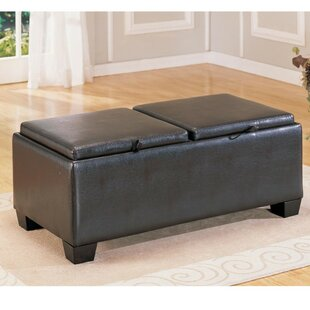 Heaney Upholstered Storage Ottoman by Red Barrel Studio