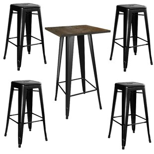 Bargain Racheal Loft 5 Piece Pub Table Set By Trent Austin Design