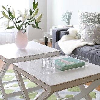 How To Style A Coffee Table 5 ways a designer would style your coffee table | wayfair