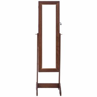 Coupon Myer Free Standing Jewelry Armoire with Mirror ByWinston Porter