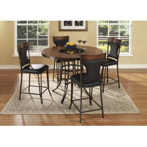 Dynasty 5 Piece Dining Set by Ultimate Accents