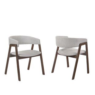 Paityn Wraparound Back Upholstered Dining Chair Set Of 2