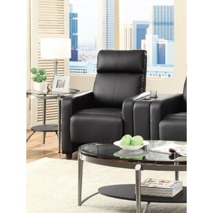 Price Check Griesinger Theater Seating Push Back Manual Recliner by Orren Ellis Reviews (2019) & Buyer's Guide