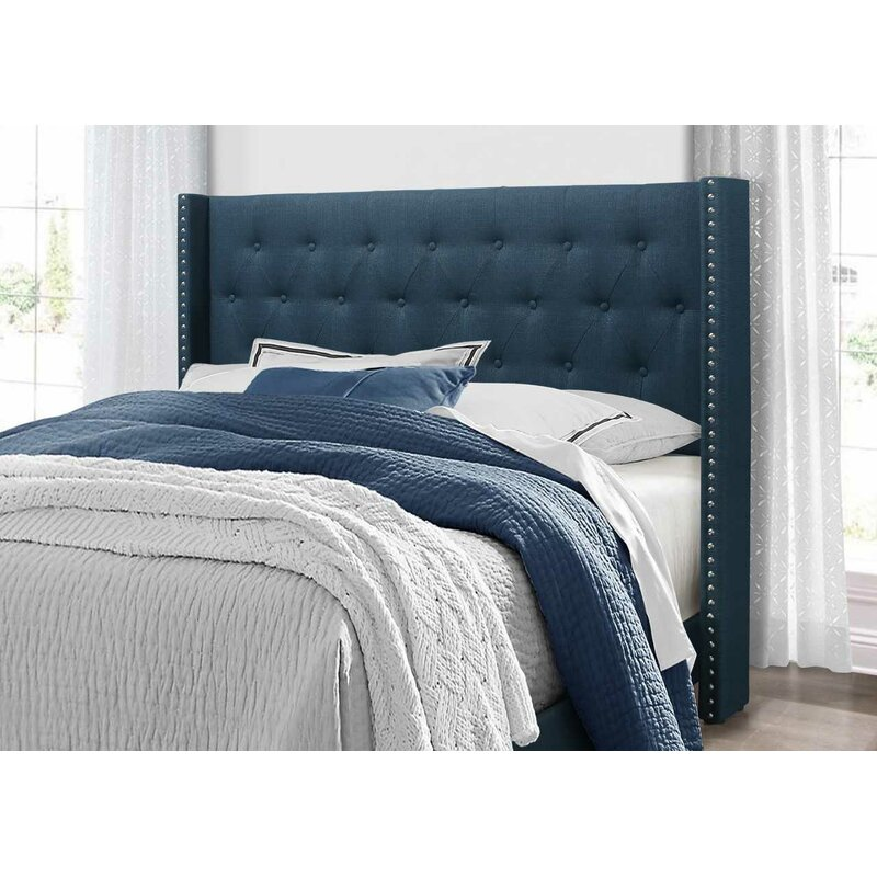 62493bebda7 Greyleigh Gloucester Upholstered Panel Bed   Reviews