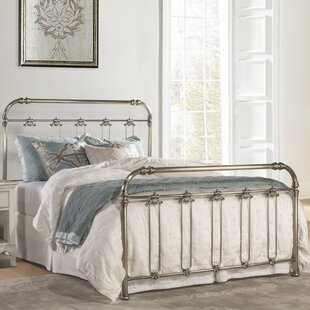 Despagne Queen Metal Panel Bed by One Allium Way Today Only Sale