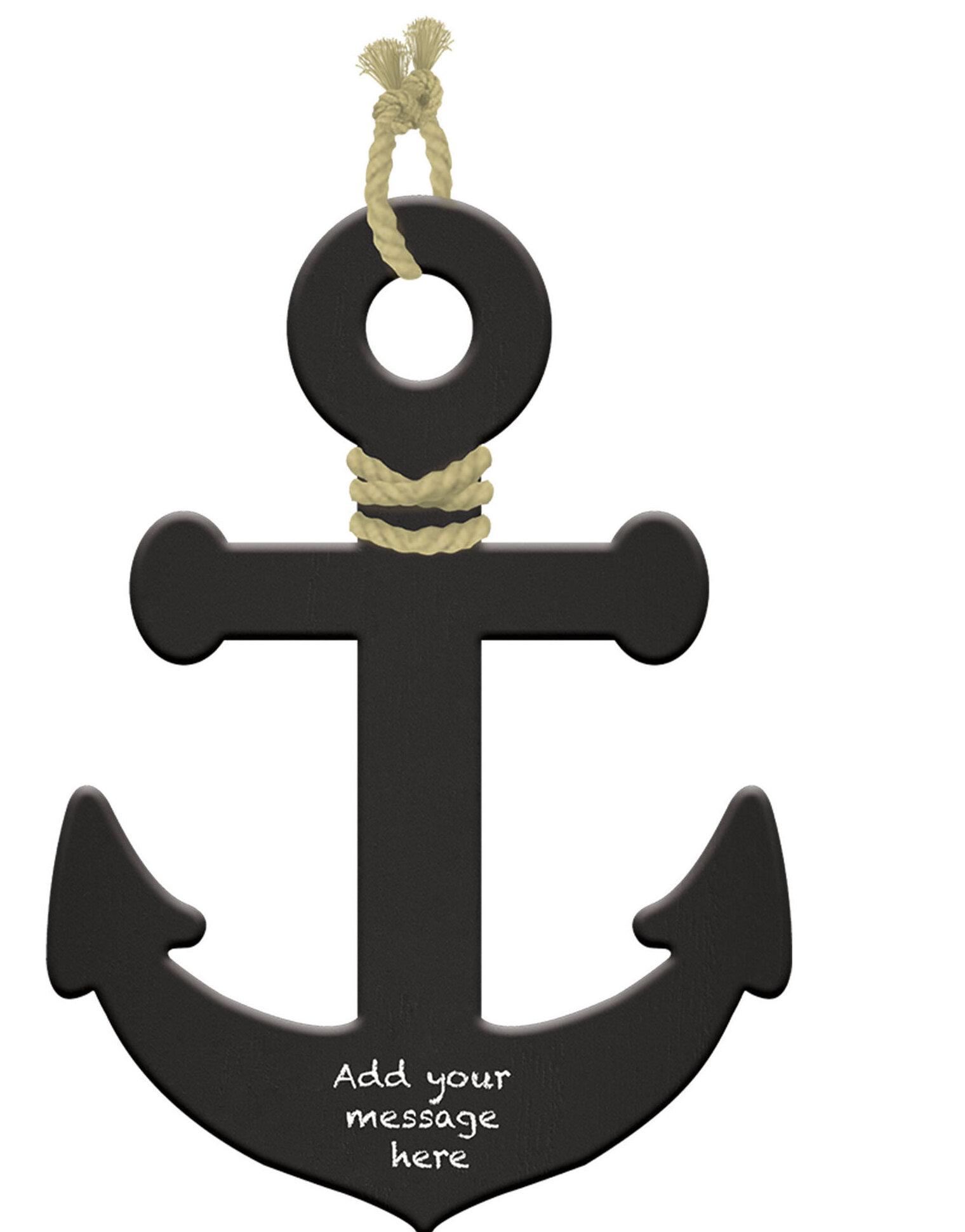 Amscan Nautical Anchor Wall Décor Wayfair