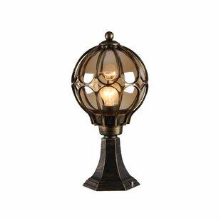 Albaugh 1-Light Pedestal Light By Astoria Grand