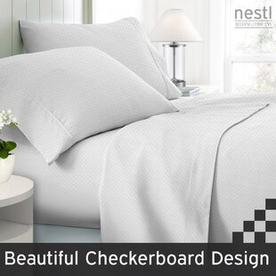 Wyatt Embossed Checkerboard Sheet Set