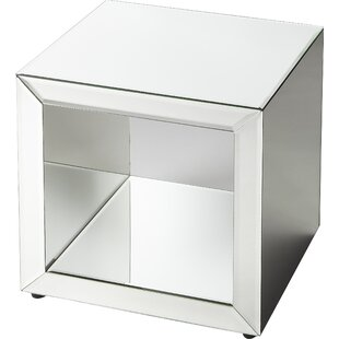 Mirrored Cube Side Table Wayfair - Wayfair mirrored side table