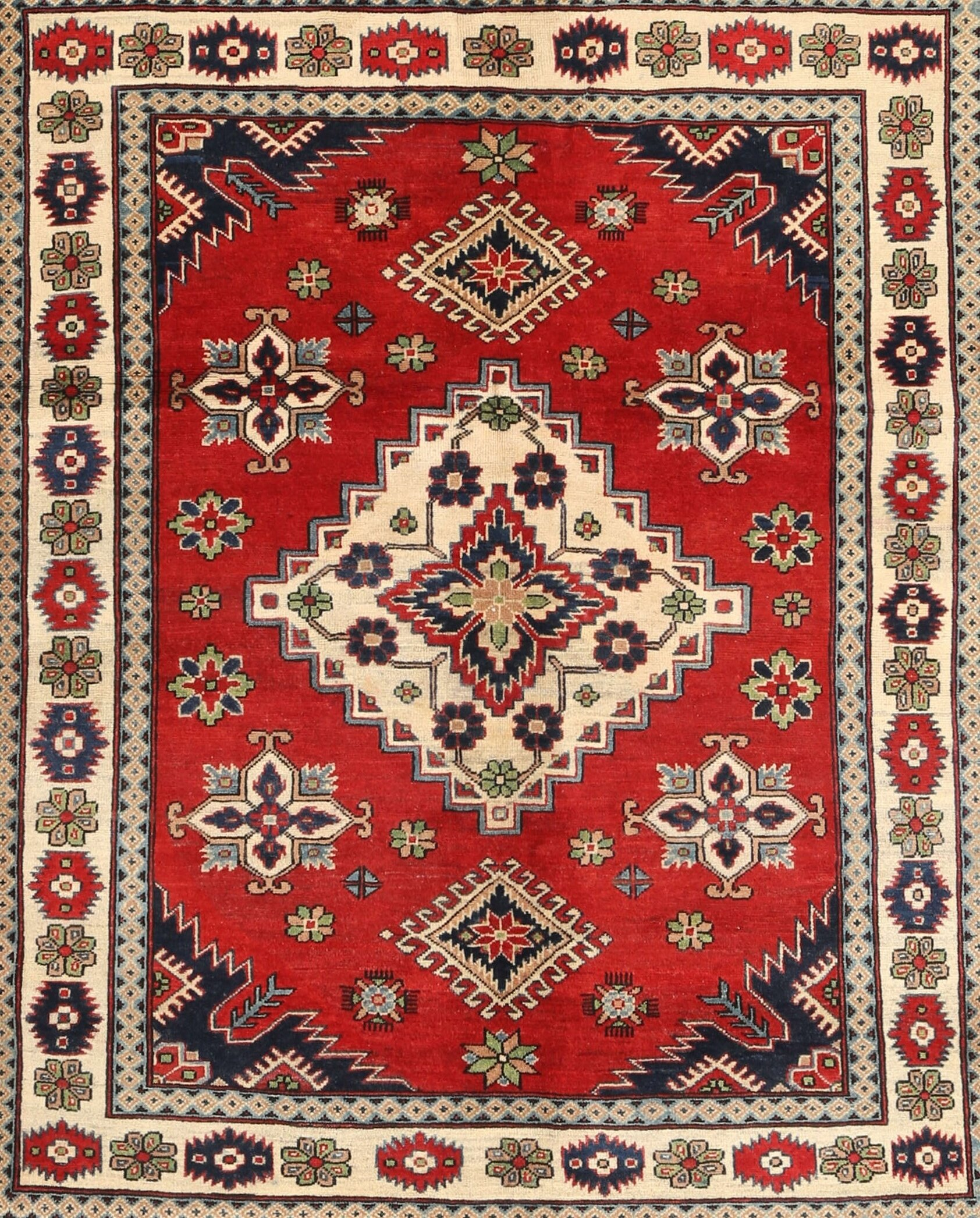 Bloomsbury Market Traditional Red Cream