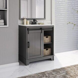 30 Inch Gray Bathroom Vanities