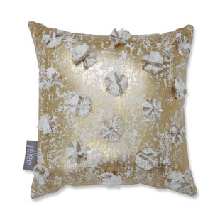 Glamour Poms Cotton Throw Pillow