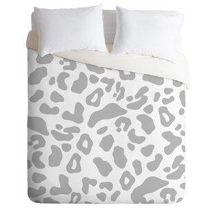 East Urban Home Allyson Johnson Leopard Duvet Set