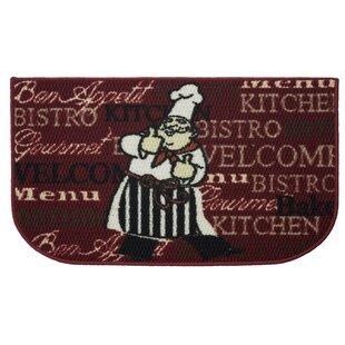 Textured Loop Bistro Chef Kitchen Area Rug