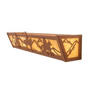 Meyda Tiffany Cowboy 4-Light Bath Bar