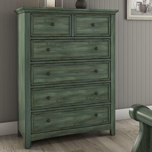 Sefton 6 Drawer Chest by Three Posts