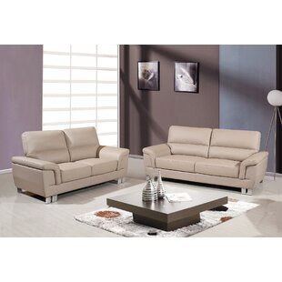 Catalina 2 Piece Living Room Set (Set of 2) by Orren Ellis