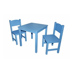 Hawley Children's 3 Piece Table And Chair Set By Harriet Bee