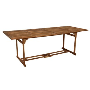 Kester Wooden Dining Table By Sol 72 Outdoor