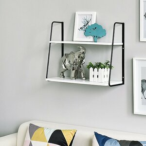 Ja 2-Tier Display Wall Shelf