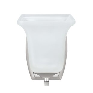 Schmeling 1-Light Bath Sconce by Winston Porter