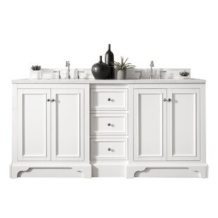 De Soto 73 Double Bathroom Vanity Base Only By James Martin Furniture
