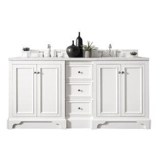 De Soto 73 Double Bathroom Vanity Base Only ByJames Martin Furniture