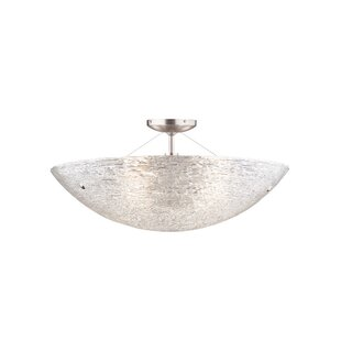 Tech Lighting Trace 4-Light Semi Flush Mount