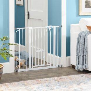 Baby Gate With Cat Door Wayfair Ca