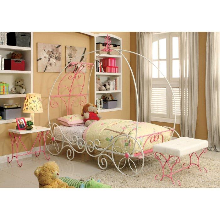 Fairy Tale Twin Canopy Configurable Bedroom Set