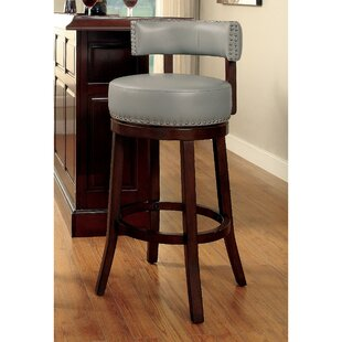 Boyers Contemporary 25 Swivel Bar Stool (Set of 2) Latitude Run