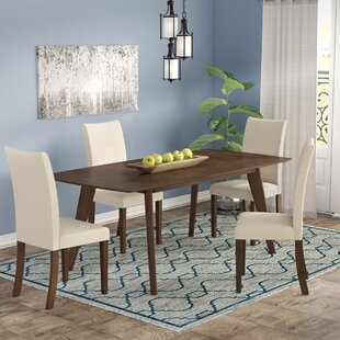 Bohostice 5 Piece Dining Set by Latitude ..