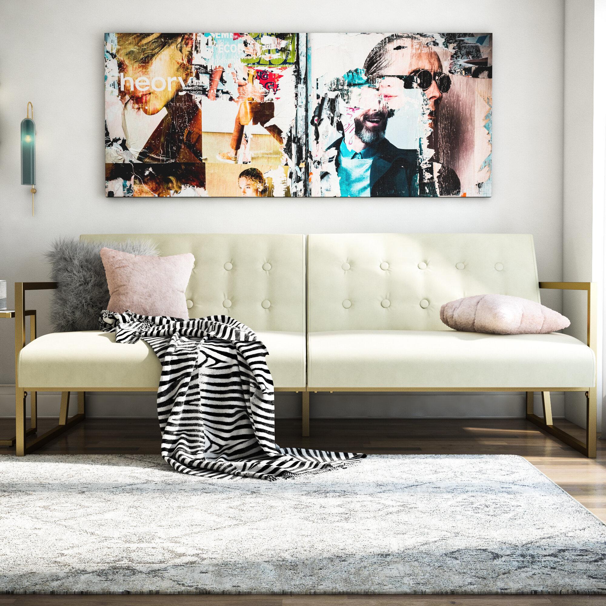 Lexington 3 Seater Clic Clac Sofa Bed