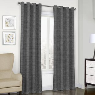 Bellefontaine Solid Max Blackout Thermal Grommet Single Curtain Panel by Gracie Oaks