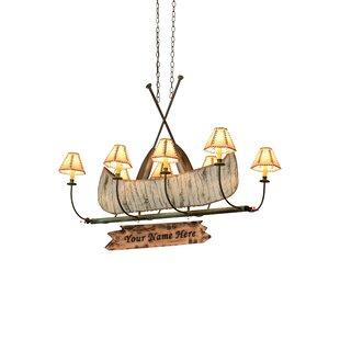 Meyda Tiffany 8-Light Kitchen Island Pend..