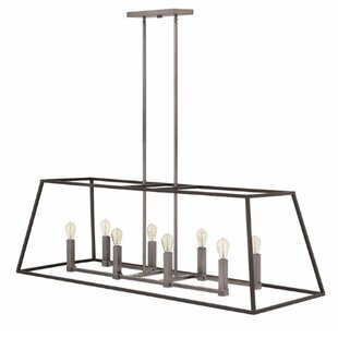Foundry Select Burley Oak 8-Light Pendant