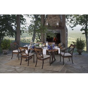 Summer Classics Belize 7 Piece Dining Set with Cushions