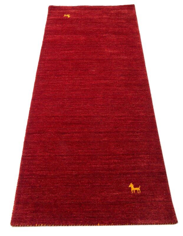 parwis handgefertigter teppich gabbeh supreme in rot bewertungen. Black Bedroom Furniture Sets. Home Design Ideas