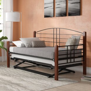 Silberman Daybed with Trundle by Winston Porter
