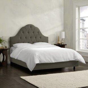 World Menagerie Socorro Upholstered Panel Bed