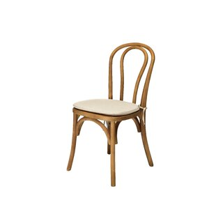 Bentwood Solid Wood Dining Chair by Comme..