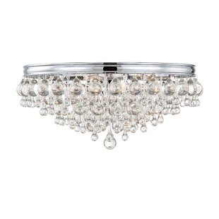Willa Arlo Interiors Devanna 6-Light Flush Mount